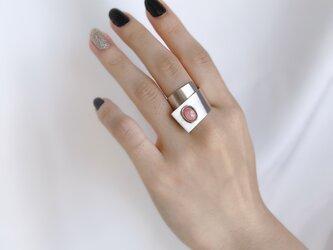 Silver950 インカローズのフリーサイズリングの画像