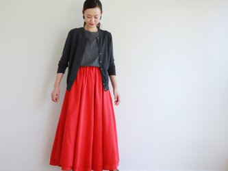 2way FAB skirt / redの画像