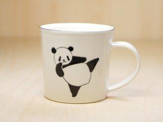 パンダマグカップ(ハイキック&ローキック)の画像