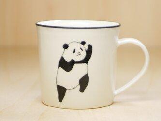 パンダマグカップ(アッパー&ジャブ)の画像