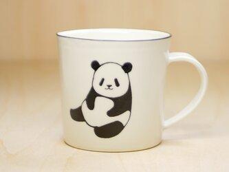 パンダマグカップ(お座り&開脚)の画像