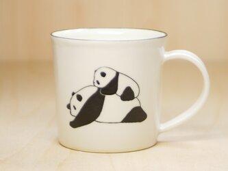 パンダマグカップ(親子)の画像