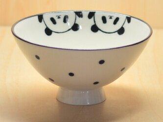 パンダ飯碗(バンザイ)の画像