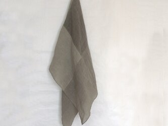 linen stole #泰山木の画像