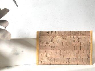 :corkのカードケース:(L) 山吹の画像