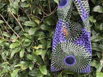 アフリカ布エコバッグ(小)の画像