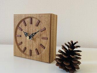 タモ 置時計の画像