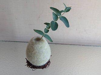 Flower egg   greenの画像