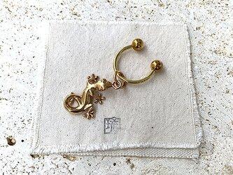 真鍮家守曲金具鍵束 rz-30の画像