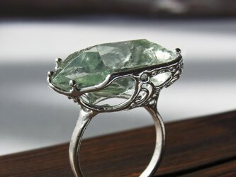 グリーン・アメシスト リング * Green Amethyst Ringの画像