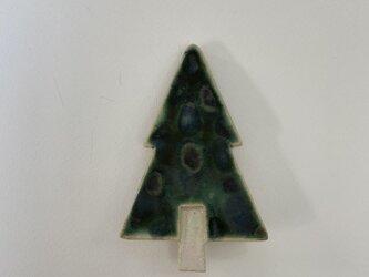 壁掛け陶板 「小さなツリー①」の画像