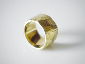 simple wide pinky ring(brass)★シンプル★幅広★ピンキー★真鍮の画像