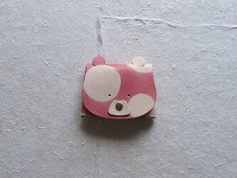 【1点もの】クマさんの小物入れの画像