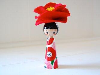 *あなたの為に咲く花*指人形・hand puppet[66]の画像