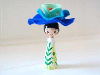 *あなたの為に咲く花*指人形・hand puppet[67]の画像