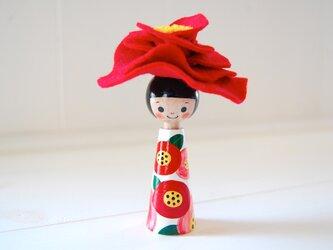*あなたの為に咲く花*指人形・hand puppet[70]の画像