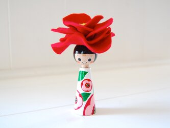 *あなたの為に咲く花*指人形・hand puppet[71]の画像