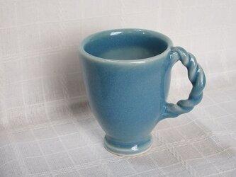 淡きコバルトブルーカップの画像
