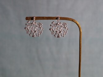Silver earring 「Shadow」の画像
