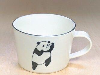 パンダスープカップ(アッパーとジャブ)の画像