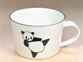 パンダスープカップ(ハイキックとローキック)の画像