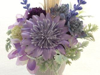 小さな真珠の涙   (仏花、造花、お供え、お盆、お彼岸、敬老の日)の画像