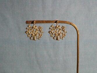 Brass earring 「Shadow」の画像
