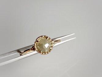 ナチュラルダイヤモンド リング/k10の画像