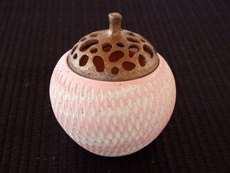 桜色珊瑚砂香炉・ポプリケース7の画像