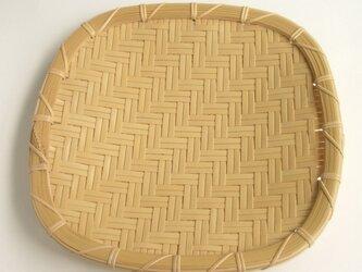 [注文製作]盛り皿 二本あじろ 24cm  C-05の画像