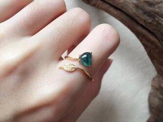 [YC:9804798]★受注制作★ 164 k18 翡翠 ヒスイ高級なリング 贅沢指輪 ゴールド ハット ダイヤモンドリングの画像