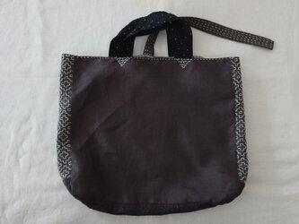 刺し子のバッグの画像