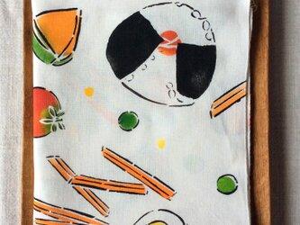 型染 手ぬぐい 「おべんとうのうた」の画像