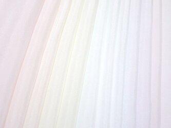 (M-5)正絹 羽二重 胴裏 手染め12枚 12色 はぎれセット パウダー つまみ細工用布・吊るし飾りにの画像