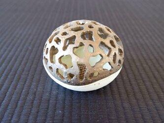 珊瑚砂ミニ香炉・ポプリケース2の画像