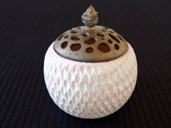桜色珊瑚砂香炉・ポプリケース1の画像