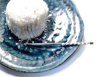 ツイスト 銀の菓子切り(楊枝)の画像