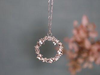 ○受注制作○Silver necklace「Happiness day」の画像