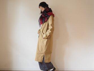 Cotton rubber cross coatの画像