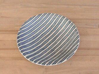 ゴスシマシマ カレー皿の画像