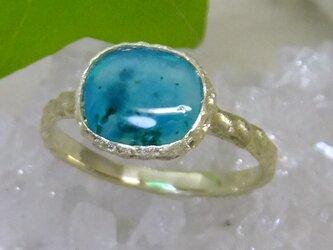 ジェムシリカ*K10 lace ringの画像