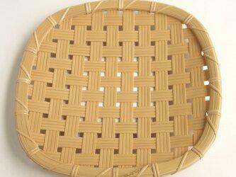 [注文製作]盛り皿 四ツ目 24cm  C-02 の画像