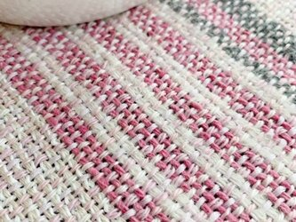 手織りランチョンマット「Pink Mix」 Vol.3の画像