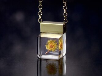 ミモザのプチネックレス 14kgf(無料ギフトラッピング, 誕生日プレゼント, メッセージカード)の画像
