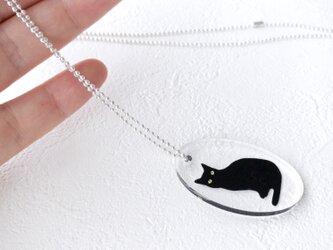 黒猫ペンダントの画像