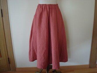 リネン!「フレアーたっぷりスカート」の画像