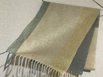 手織りストール SU23の画像