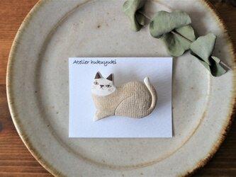 ネコのブローチ 8の画像