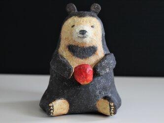 張り子のクマの画像
