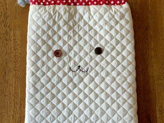 フニータのキルティング巾着袋の画像